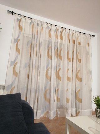 dos cortinas