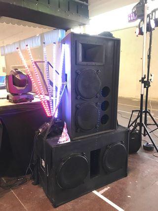 Equipo de sonido 6000w rms