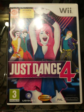 Just Dance 4 juego Wii