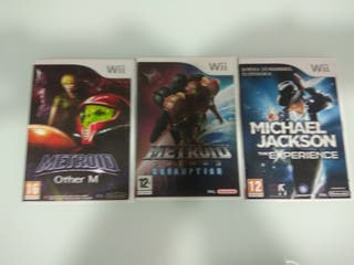 WII JUEGOS PACK