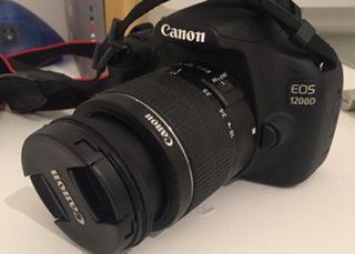 Cámara de foto y vídeo Canon 1200D