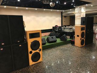 Equipo de sonido 4000w rms