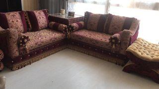 Sofá de dos plazas x2