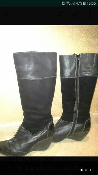 Botas de piel número 38