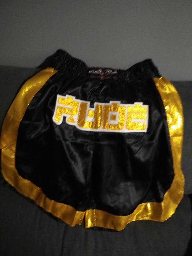 Pantalones Cortos Muay Thai Shorts K1 RUDE BOYS ST
