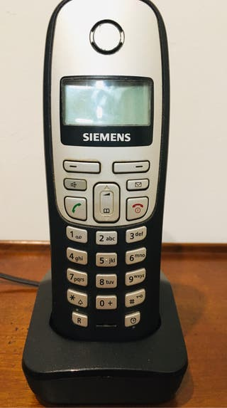 Teléfono inalámbrico Siemens
