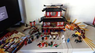 LEGO 2507 TEMPLO NINJAGO NINJA GO INCOMPLETO