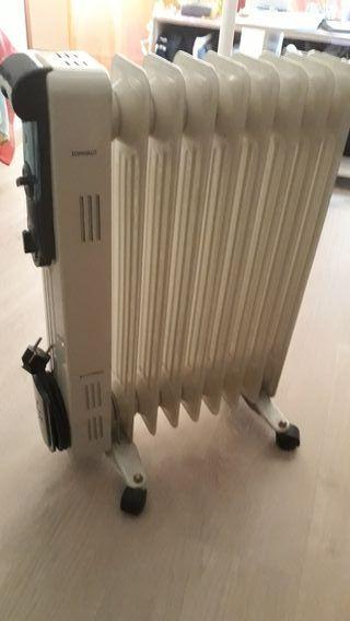 Radiador bajo consumo electrico