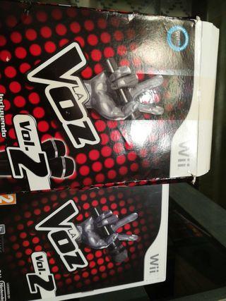 La Voz juego Wii