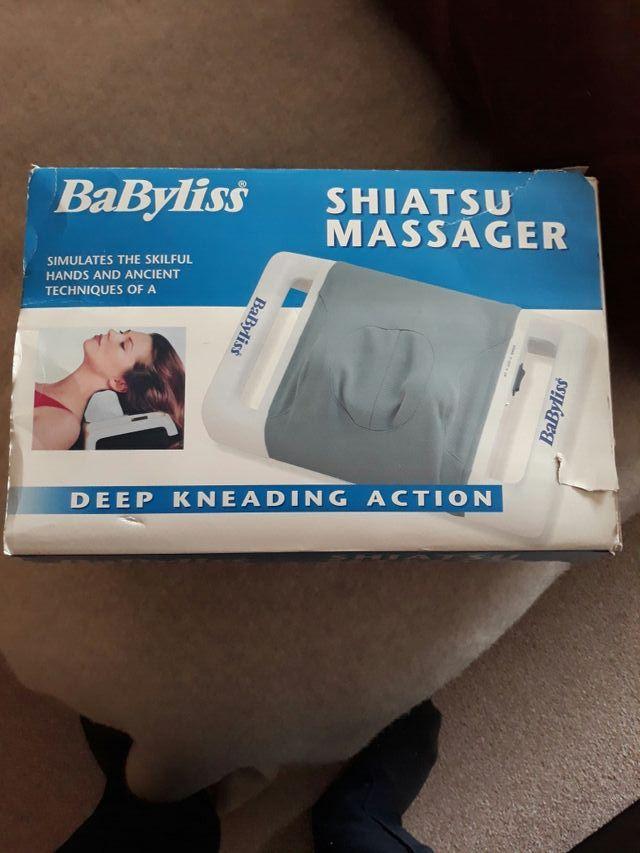 babyliss shiatsu massager