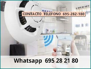 isut Videovigilancia WIFI detector dehumo