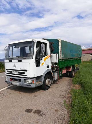 Camion volquete y grua 10 Tn
