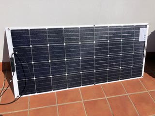 Panel Solar Flexible 160W ETFE 12V Barco Camper