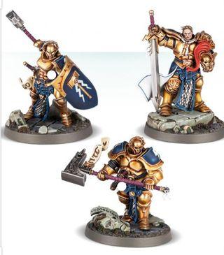 Campeones de Steelheart Warhammer shadespire