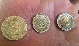 Monedas de Latinoamérica