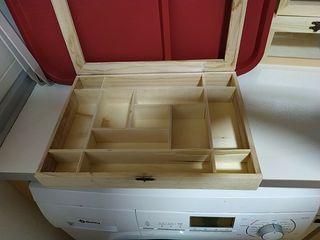 caja madera con separadores