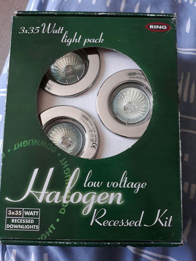 low voltage halogen recessed kit