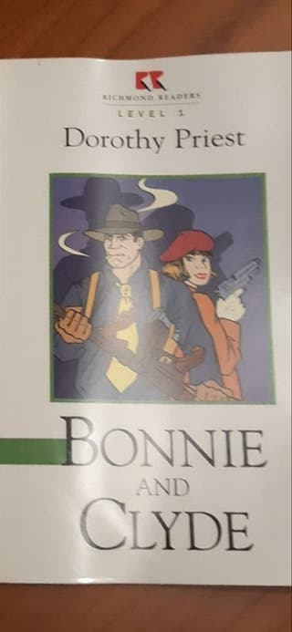 libro inglés Bonnie and Clyde