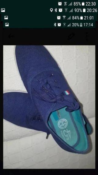 zapatillas de lona numero 45