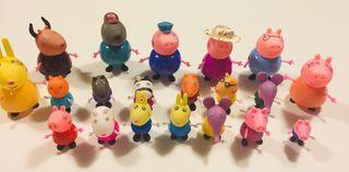 Peppa Pig: 20 Figuras, Noria, Feria y Tren