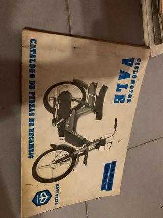 Catálogo piezas de recambio MOTO VESPA 1981