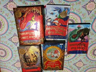 libros Geronimo Stilton. lote 7 libros.