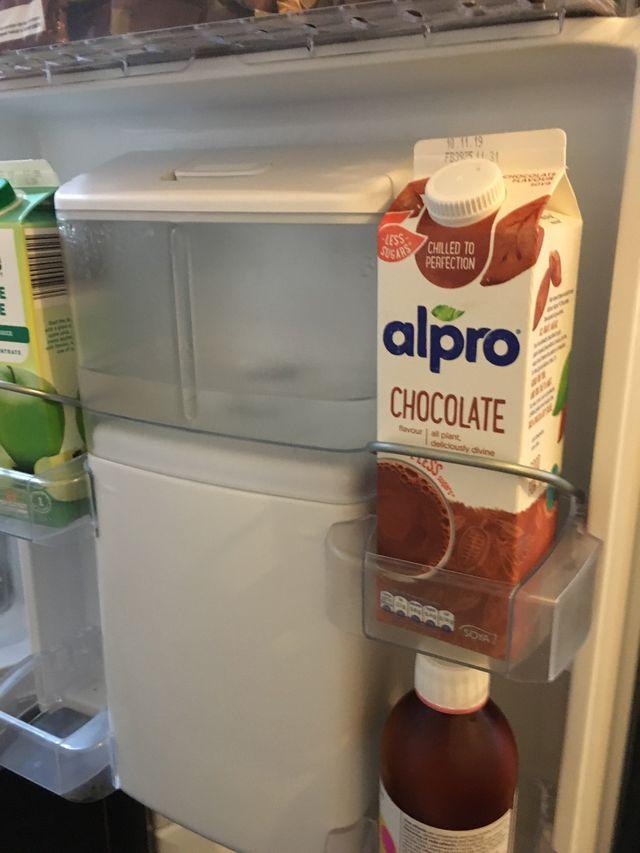 Beko fridge freezer with water dispenser