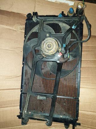 radiador con electro saxo 106
