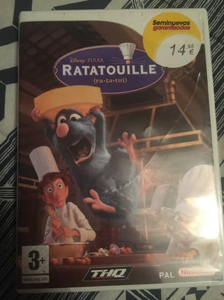 juego ratatouille WII