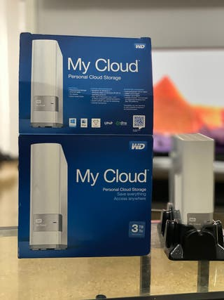 My cloud WD disco duro nube 3TB