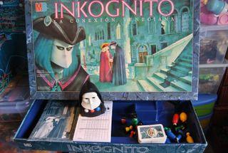Inkognito juego de mesa MB 1988