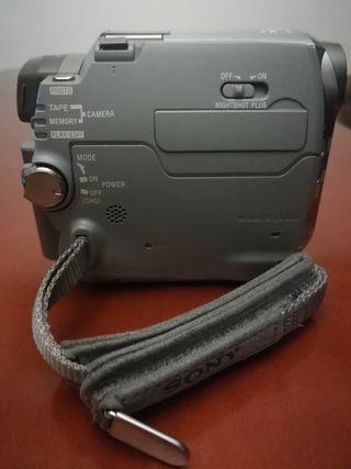 cámara de vídeo Sony Hándicap