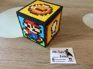 Caja y/o hucha super Mario y Luigi