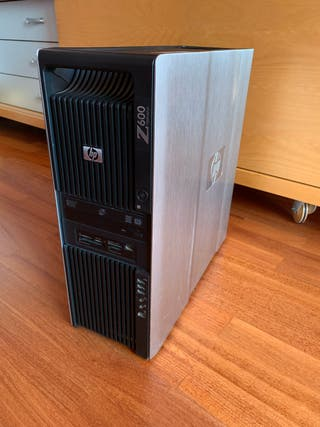 Hp z600 12 nucleos 32gb de ram workstation