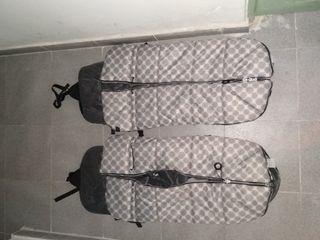 Sacos silla gemelar