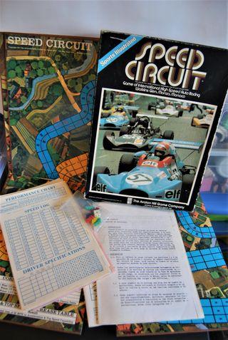Speed Circuit Juego de mesa 1977