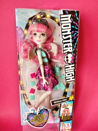 MUÑECA MONSTER HIGH ROCHELLE GOYLE PARTY GHOULS
