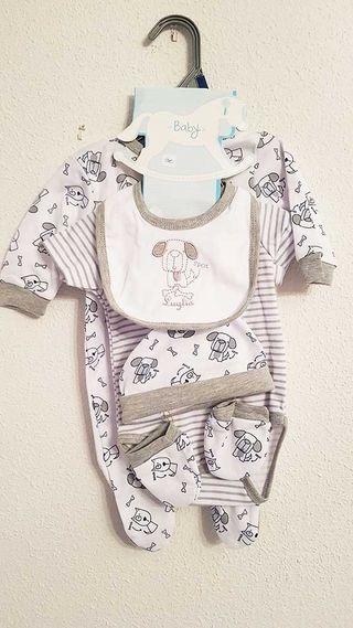 Pack 5 piezas recién nacido - NUEVO
