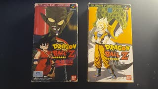 DRAGON BALL Z NINTENDO SUPER FAMICOM COMPLETO