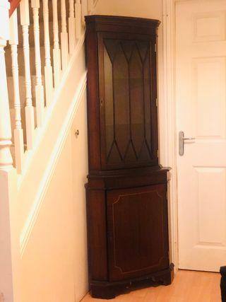 Mahogany corner unit available- Peterborough