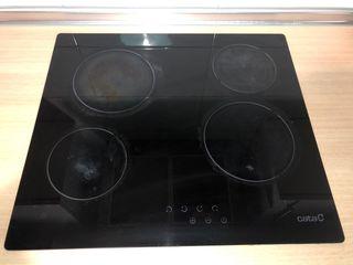 Placa vitroceramica y horno