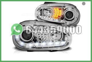 FAROS LED+INTERMITENTE CROMO VW GOLF MK4