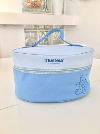 Neceser bebé Mustela azul