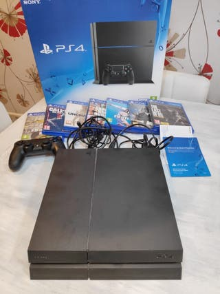 PS4 500GB + mando + juegos