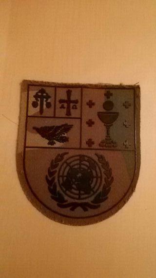 parche militar ejercito 10 mision ONU