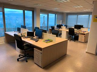 8 mesas de oficina 180x80 como nuevaa