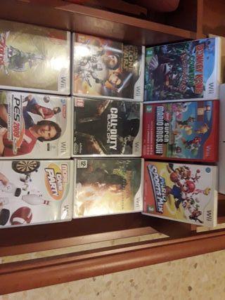 Pack de juegos i 3 mandos de la Wii