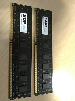 16GB RAM DDR3 2x8gb Dimm, memoria PC.
