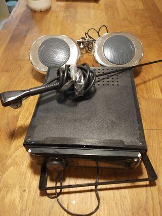 Auto radio para moto LG
