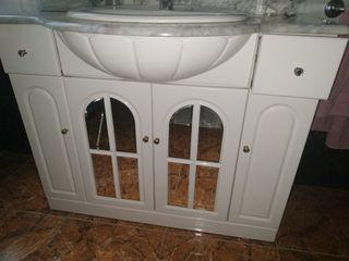 mueble baño con lavabo 100cm